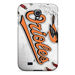 LisaSwinburnson Samsung Galaxy S4 Durable Cell-phone Hard Covers Support Personal Customs HD Baltimore Orioles Pictures [mME5596nAID]