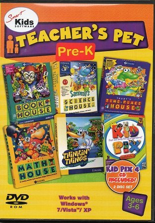 Smart Kids Software's Pre-K Prep Pack with Millie's, Bailey's, Sammy's, Trudy's, Thinkin' Things & Kid Pix Deluxe (Educational Software)