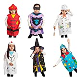 Mizzuco 6 Piece Dress up Costumes