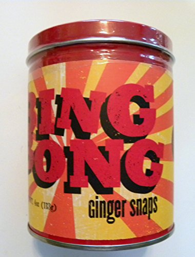 Harry Potter Bing Bong Ginger Snap Cookies in Decorative Tin