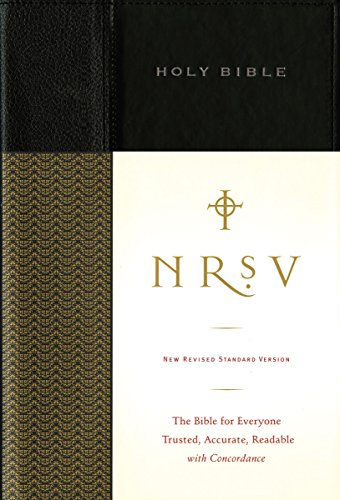 NRSV, Standard Bible, Hardcover, Black