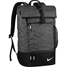 Nike Sport Backpack with Shoe Storage - Black/ Silver