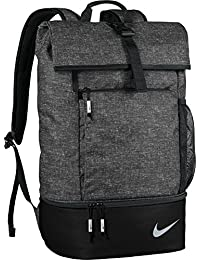 8f7c447b9bd Nike Sport Backpack with Shoe Storage - Black  Silver