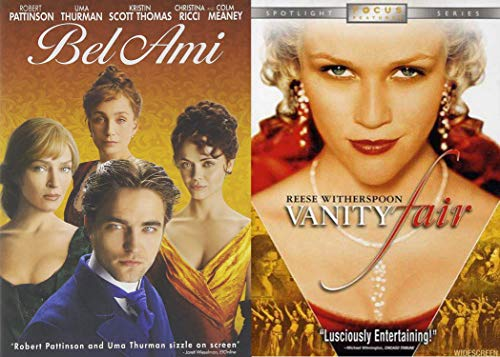 Classic Literature Romantic Period Dramas Double Feature - Guy de Maupassant's Bel Ami & William Makepeace Thackeray's Vanity Fair 2-DVD - Vanity Dvd Fair
