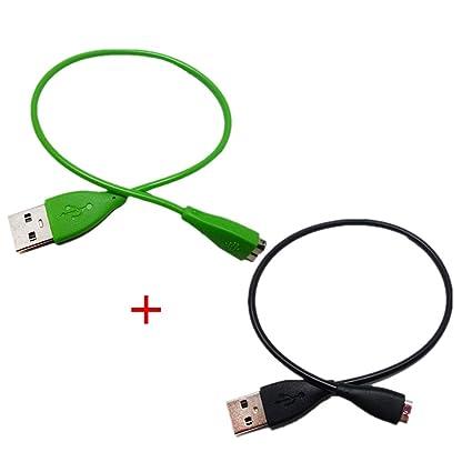 WEINISITE USB Cable de Carga Cargador para Fitbit Charge HR ...