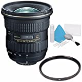 Tokina AT-X 11-20mm f/2.8 PRO DX Lens for Nikon F (International Model) No Warranty + Deluxe Cleaning Kit + 82mm UV Filter Bundle 1