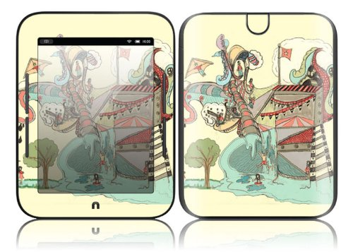 Barnes & Noble Nook Simple Touch Decal Skin - Dollie Dream House