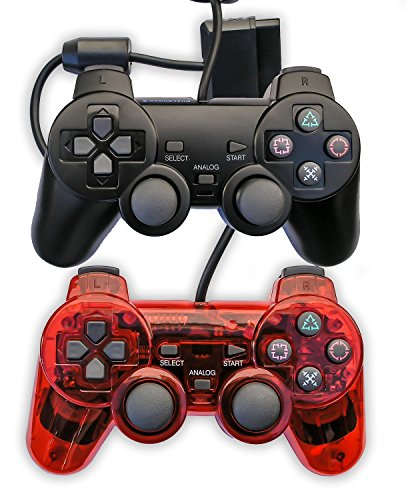 Donop Wired Clear Black and Red Gaming Controller Console Game Pad for - Microsoft Store Phone Uk Number