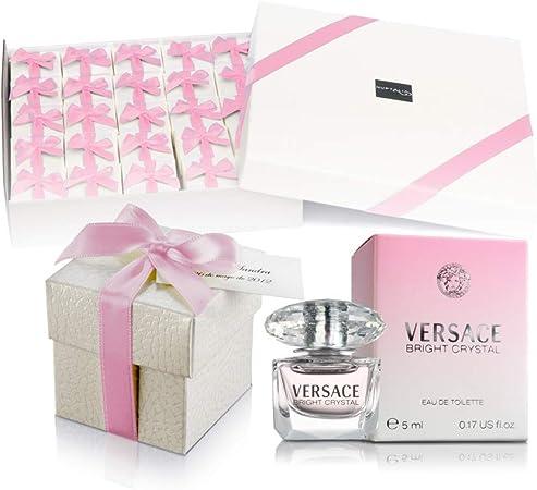 Pack 25 mini perfumes de mujer como detalles de boda para ...