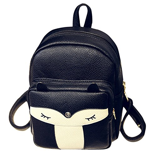 Cute Mini Leather Fox Fashion Backpack Small Daypacks Purse for Girls - Buy  Online in Oman.  a326ad6241fd2