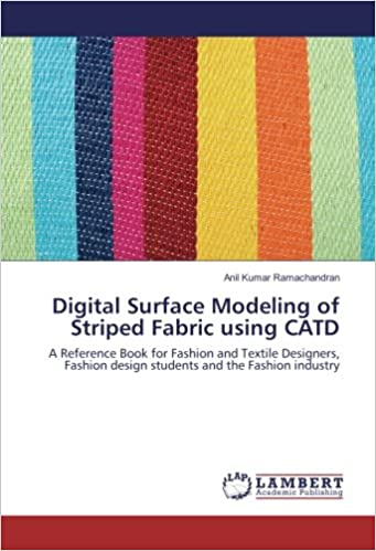amazon digital surface modeling of striped fabric using catd a