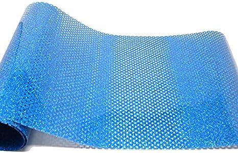 Vinilo textil glitter microperforado VINTEX (Azul Claro): Amazon ...