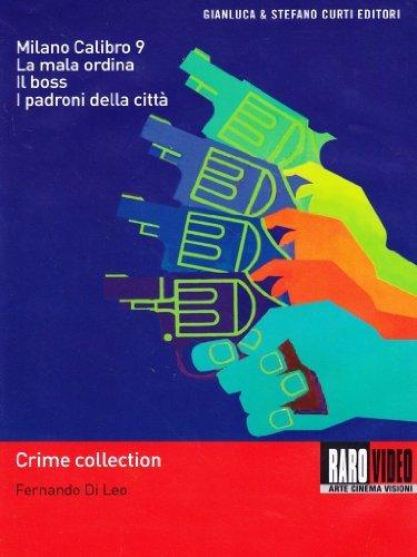 Fernando Di Leo Crime Collection - 4-DVD Box Set ( Milano calibro 9 / La mala ordina / Il boss / I padroni della città ) ( Caliber 9 / The Italian Connect [ NON-USA FORMAT, PAL, Reg.2 Import - Italy ]