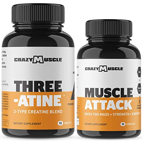 Bundle for Faster Muscle Growth (2 Products Included) - Creatine + Muscle Attack