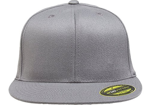ce7059b740078 Flexfit Premium 210 Fitted Flat Brim Baseball Hat - Import It All