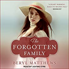 The Forgotten Family Audiobook by Beryl Matthews Narrated by Justine Eyre