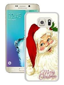 Popular And Fashionable Designed Samsung Galaxy S6 Edge Plus Case ,Santa Claus White Samsung Galaxy S6 Edge+ Skin High Quality Phone Case