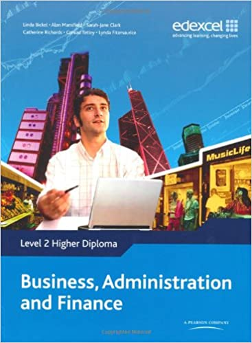 Higher Diploma In Business Administration And Finance Level 2