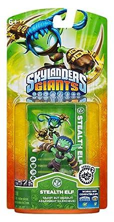 Skylanders: Giants - Figura Single Stealth Elf: Amazon.es ...