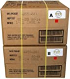 MRE 2020 Inspection Date Case, 24 Meals with 2020 Inspection Date, 2017 Pack Date. Military Surplus Meal Ready to Eat…