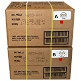 MRE 2020 Inspection Date Case, 24 Meals with 2020 Inspection Date, 2017 Pack Date. Military Surplus Meal Ready to Eat. (A and