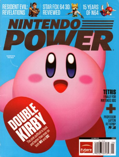 Nintendo Power #271 September 2011 Kirby Mass Attack & Kirby's Return to Dream Land
