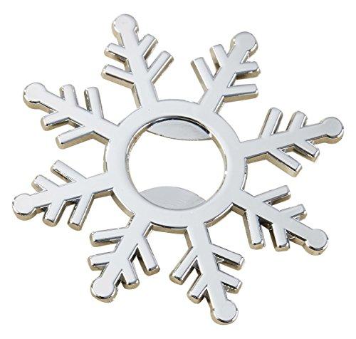 Kate Aspen Snowflake White Glass Tea Light Holder