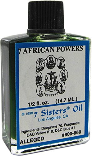 7 Sisters Of New Orleans Perfumed Anointing Oil - SEVEN AFRICAN 1/2oz ()