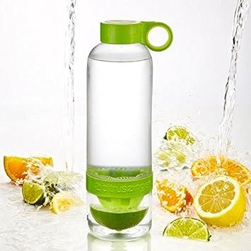800 ml botella de agua Deportes taza con infusor de limón exprimidor taza – añadir el