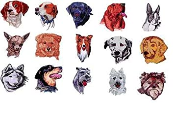 Oesd Embroidery Machine Designs Cd Dogs 3: Amazon co uk: Kitchen & Home