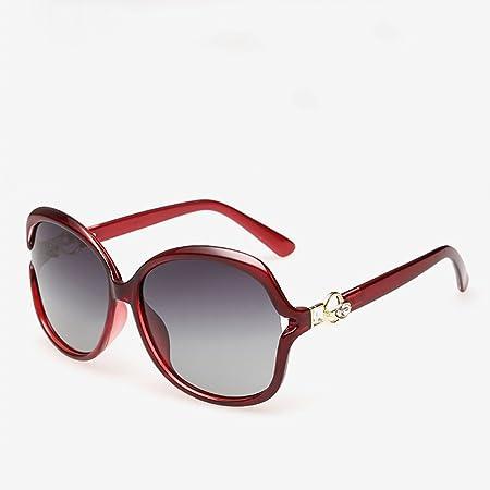 CJ Die neue polarisierte Sonnenbrillen Trend Sonnenbrille der treibenden Spiegelfrauen, 4