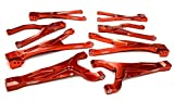 Integy RC Model Hop-ups C25904RED Billet Machined Suspension Kit for Traxxas 1 10 Scale Summit 4WD