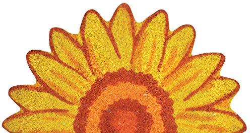 Esschert Design RB182 Sunflower Half Doormat