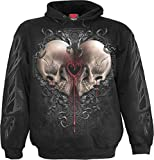 Spiral - Mens - Dark Love - Hoody Black - L