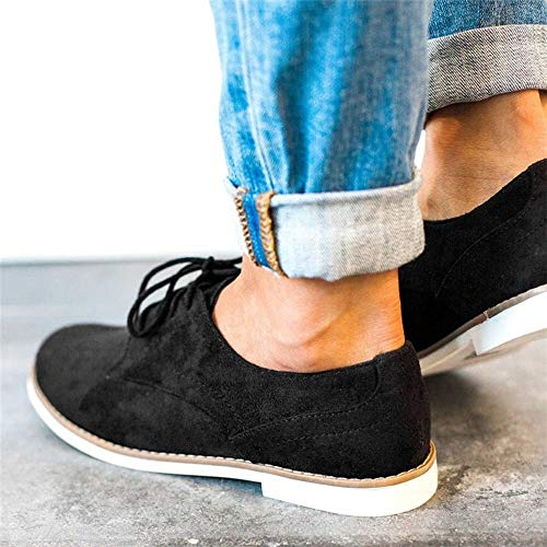 Couleur Panter Homme Femmes En De Cheville Travail Scurit Bouts Daim Solides Chaussures Plancher Alikeey Casual Dentelle Ronds Noir Goodyear Sport dIRqwZ7ZT