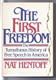 The First Freedom, Nat Hentoff, 0440038502