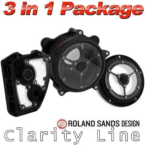 Roland Sands diseño claridad Filtro de aire con Derby y Cam ...