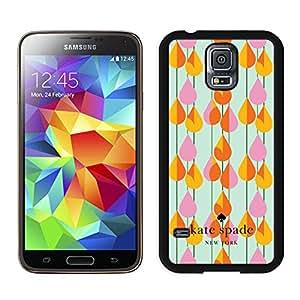 Customized Kate Spade Samsung Galaxy S5 I9600 Black Phone Case 031