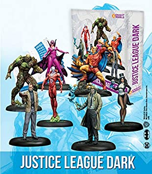 Knight Models Juego de Mesa - Miniaturas Resina DC Comics Superheroe - League of Dark Justice: Amazon.es: Juguetes y juegos