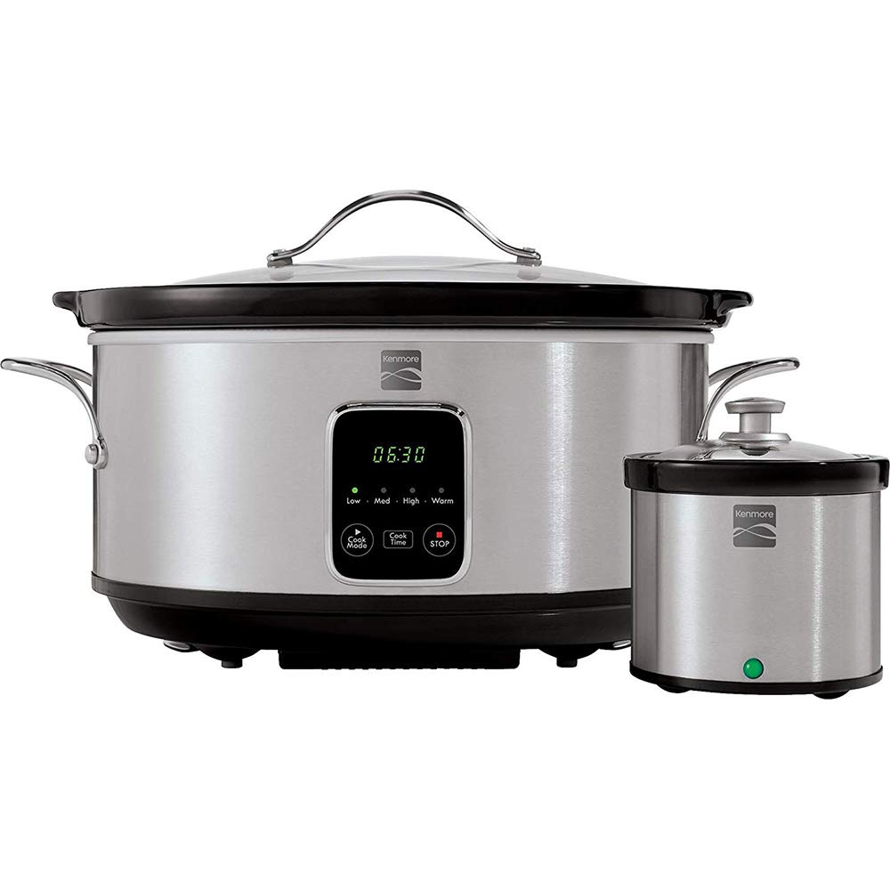 Kenmore Slow Cooker w Dipper 7qt SS Kitchen & Dining Home ...
