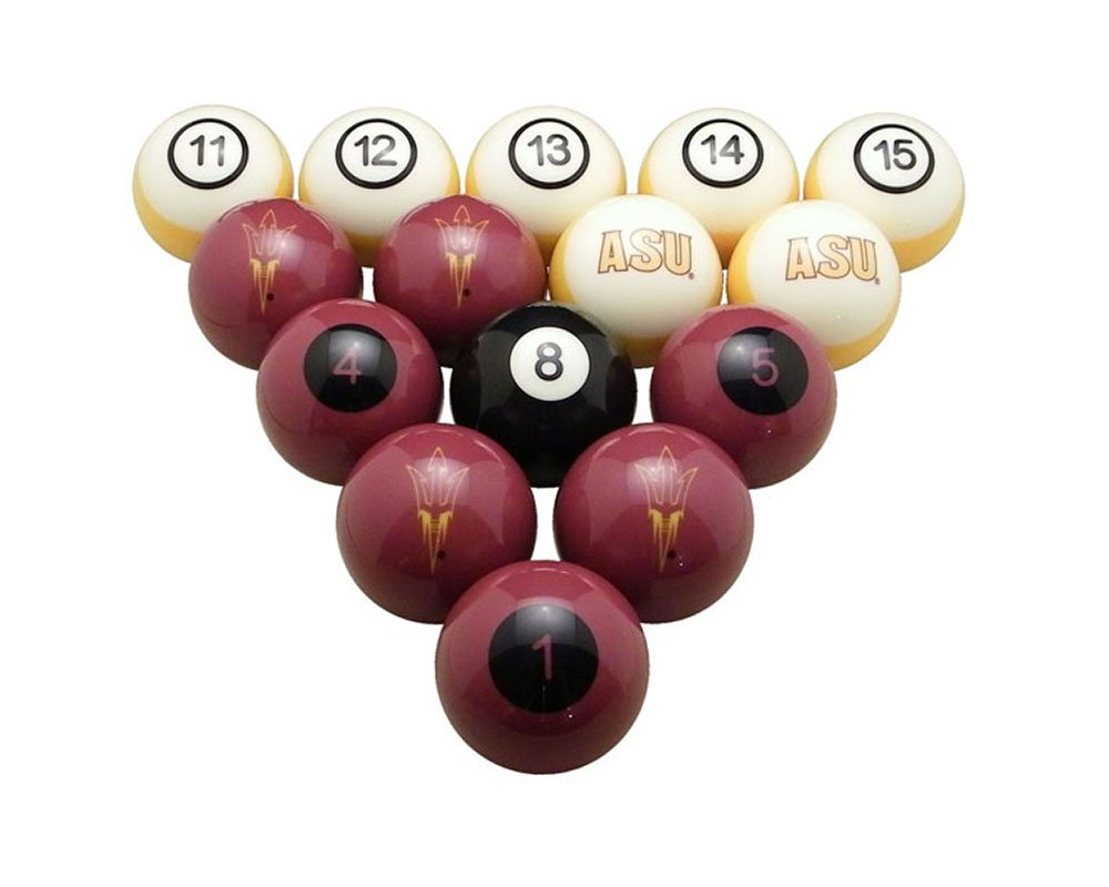 Wave7 Arizona Sports Team Logo Officially Licensed State Billiard Ball Set - NUMBERED by wave