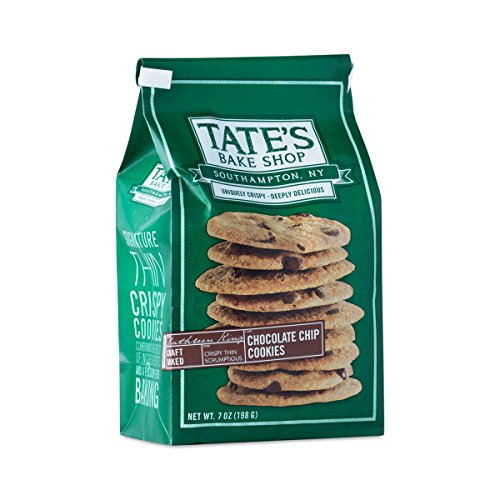 Luscious Bake Shop - Tate's Bake Shop- Chocolate Chip Cookies, 7oz per bag (pack of 2)
