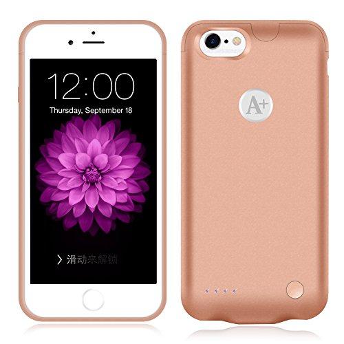 4000mah External Battery Case iPhone 6 Plus/ iPhone 6s Plus (Gold) - 5