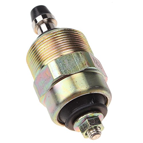 Friday Part Fuel Shutoff Solenoid for 89-93 Dodge Diesel Trucks With 12V Cummins 5.9L (Engine Parts 12 Volt Starter)