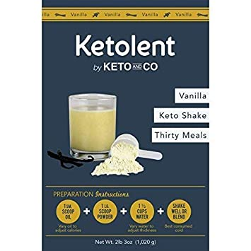 Amazon Sated Keto Meal Shake Vanilla Ketolent 30 Meal Kit