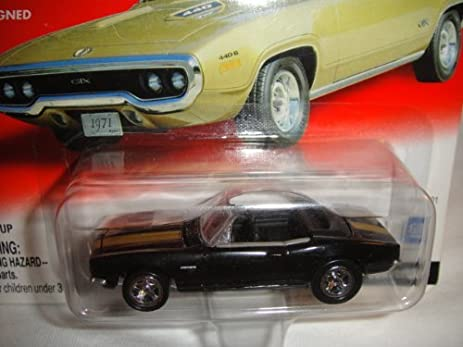 Amazon Com Johnny Lightning 1 64 Scale Muscle Car Madness Black