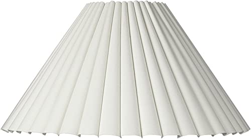 Box Pleat Lamp Shade 7×20.5×12.5 Spider – Brentwood