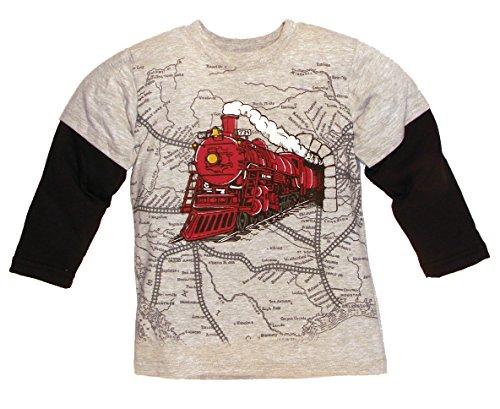 Mulberribush Tumbleweed Little Boys', Train/Map 2fer Tee ...