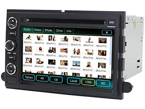Amazon 2005 2012 ford f 250 f 350 f 450 f 550 in dash dvd gps amazon 2005 2012 ford f 250 f 350 f 450 f 550 in dash dvd gps navigation stereo bluetooth hands free steering wheel controls touch screen ipod asfbconference2016 Gallery
