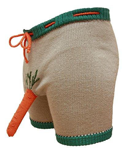 MySexyShorts Herren Boxershort mehrfarbig Grey, orange, green